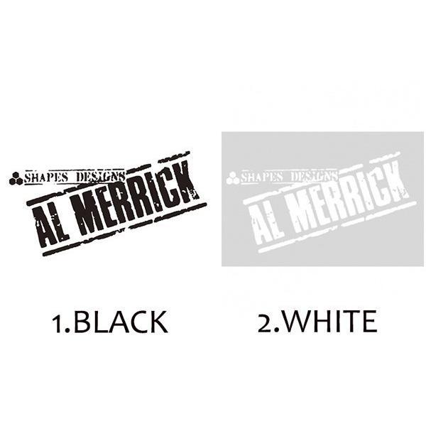 CHANNEL ISLANDS SURFBOARDS/AL MERRICK/ステッカー/ALMERICK/WHITE・ブラック/7cmx12.5cm/チャネルアイランド/アルメリック/サーフィン/サーフボード|selfishsurf|02