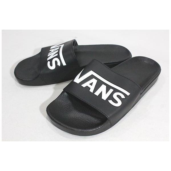 Vans バンズ/ビーチサンダル/18SU/SURF COLLECTION/SLIDE-ON Sandal/(VANS)BLACK・ブラック/25・26・27・28cm/シャワーサンダル/ロゴ|selfishsurf|02