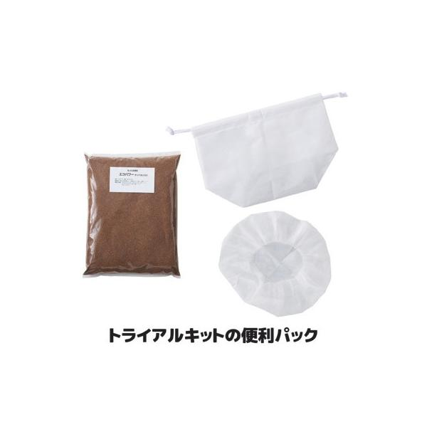 生ゴミ処理 家庭用 トライアルキットの便利パック ECS-135 自然にカエル ル・カエル トライアルキット エコ・クリーン 日本製 sellet
