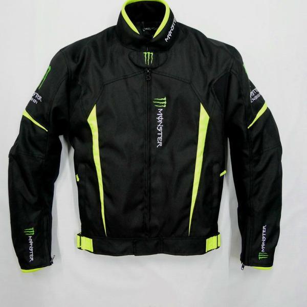 モンスター エナジー メンズ バイク ジャケット ライダースジャケット    春 秋 冬 3シーズン 防風 防寒 プロテクター装備 sellmax1 02