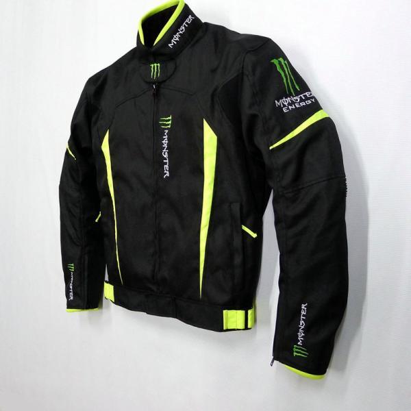 モンスター エナジー メンズ バイク ジャケット ライダースジャケット    春 秋 冬 3シーズン 防風 防寒 プロテクター装備 sellmax1 04