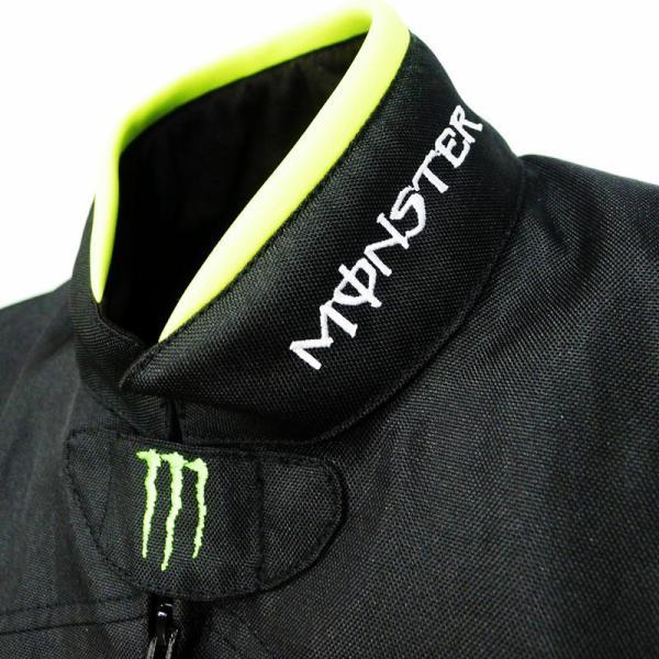 モンスター エナジー メンズ バイク ジャケット ライダースジャケット    春 秋 冬 3シーズン 防風 防寒 プロテクター装備 sellmax1 06