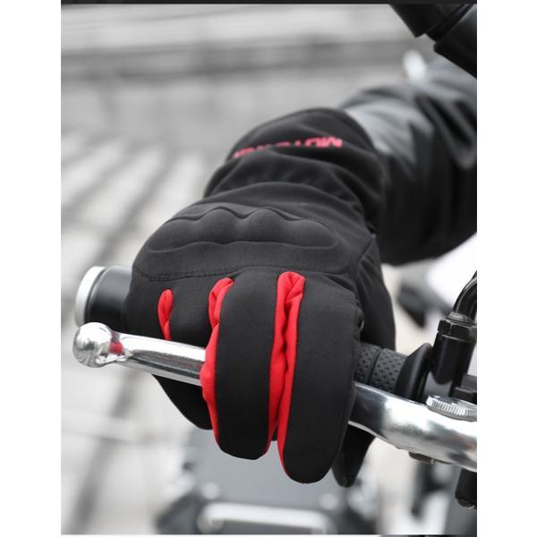 バイクグローブ 手袋 バイク用 自転車 春 夏 秋3シーズン グローブ メンズ 厚手 バイク ウェア|sellmax1|04