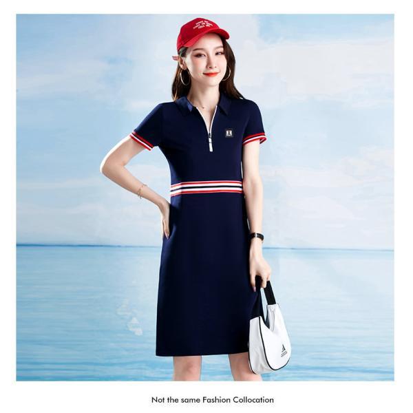 2021 ゴルフウェア レディース ゴルフ ドレス ワンピース 丈長め ゴルフ スカート かわいい おしゃれ 新作