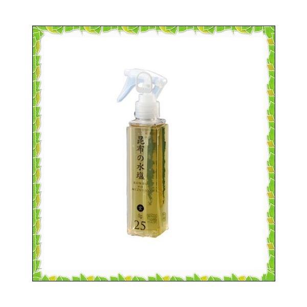 松前屋 昆布の水塩 玄≒25% スプレー|sena