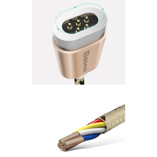Android 用 micro USB ケーブル マグネット アンドロイド 断線しにくい アンドロイド 用 マイクロ USB 充電ケーブル 1m スマホケース y2|senastyle|04