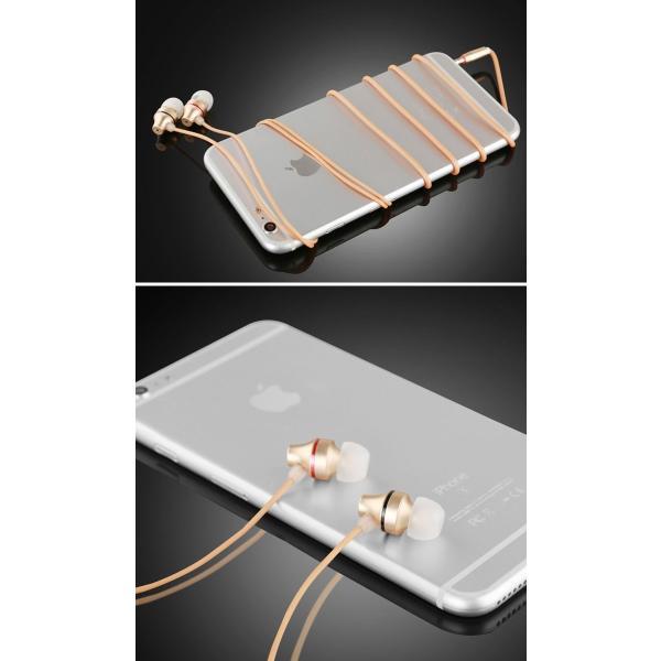 イヤホン マイク スマホ iPhone Android パソコン カナル型 通話可 超小型リモコン 有線 全3色 軽量 イヤフォン シンプル|senastyle|06