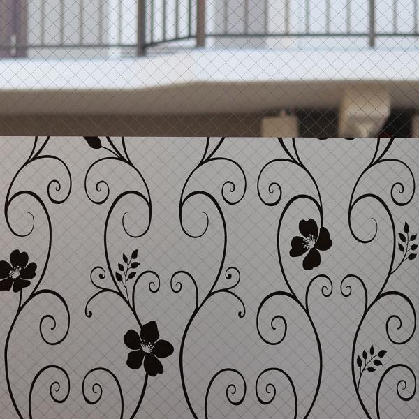 窓ガラス フィルム 外から見えない 窓 目隠しフィルム 幅120cm (mgch90-p014b-sam) はがせる おしゃれ 目隠しシート UVカット 飛散防止|senastyle|04
