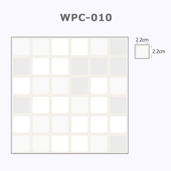 壁紙 シールタイプ キッチン タイル シート 幅50cm×長さ1m単位 タイル キッチン壁紙シール リメイクシート (壁紙 張り替え) モザイク柄|senastyle|02