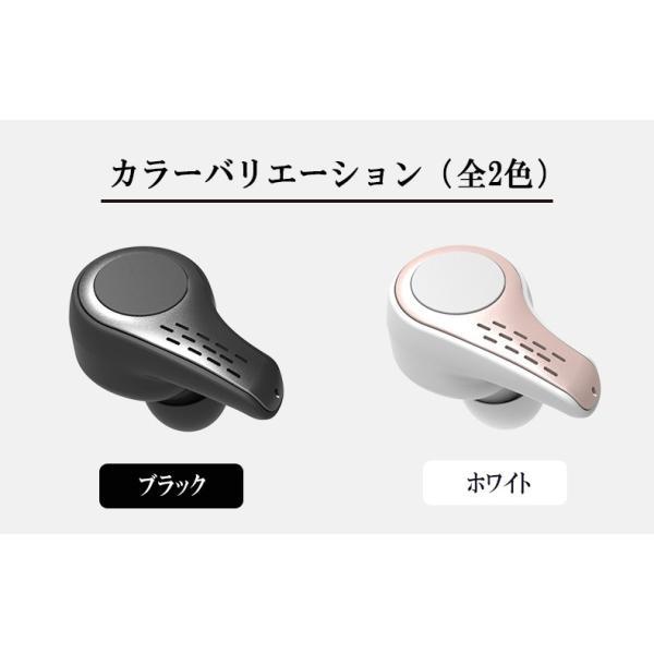 新作ブルートゥースイヤホン Bluetooth 5.0 ワイヤレスイヤホン  ヘッドセット 片耳 Hi-Fi高音質 マイク内蔵 充電ケース付属 最大連続再生時間20時間 左右耳兼用|sendaizuihouen-store|15