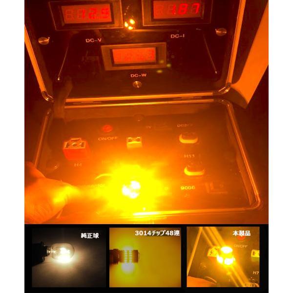 LEDウインカーバルブT20シングルピン角も対応/S25シングル選択可アンバー ハイブリッド車対応 改良版ハイフラ防止抵抗内蔵 50W 3600Lm キャンセラー内蔵 2本set|sendaizuihouen-store|07