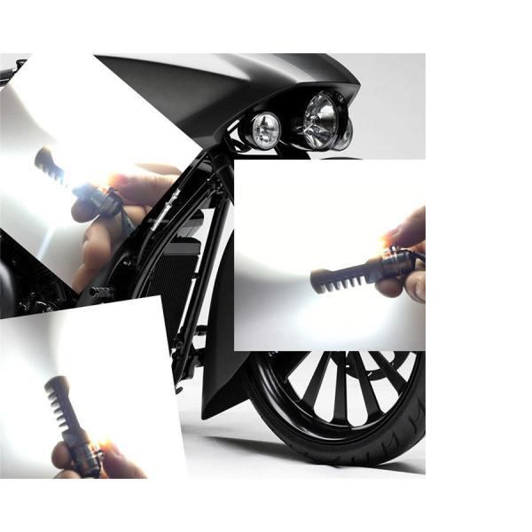バイク用 LEDヘッドライト PH7Hi/Lo切替 8W Bridgelux COBチップ採用 ホワイト H6M AC DC兼用 1灯分|sendaizuihouen-store|02