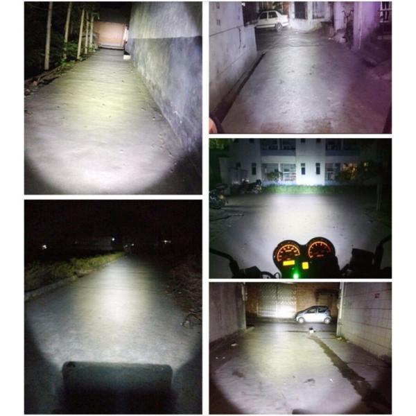 バイク用 LEDヘッドライト PH7Hi/Lo切替 8W Bridgelux COBチップ採用 ホワイト H6M AC DC兼用 1灯分|sendaizuihouen-store|03
