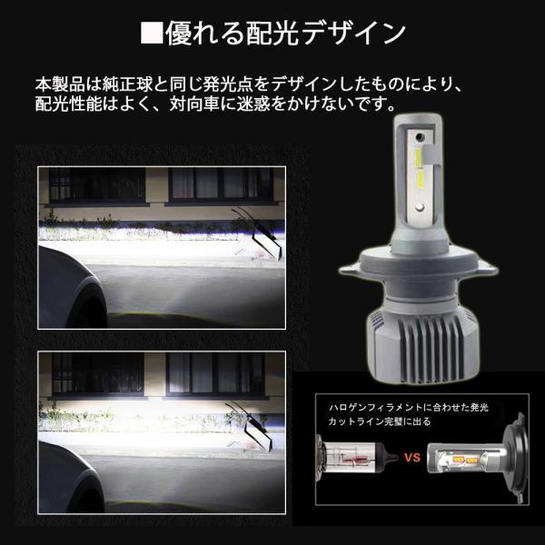 LEDヘッドライト車用  H4 H1 H3 H7 HB3 HB4 H8 H11 H16 Q5 車検対応 CSP社製ledチップ搭載 50W9000ルーメン 2年保証 2本|sendaizuihouen-store|06