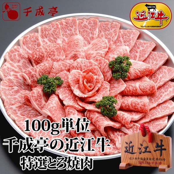 焼き肉 近江牛 特選とろ焼肉 100g単位|sennaritei