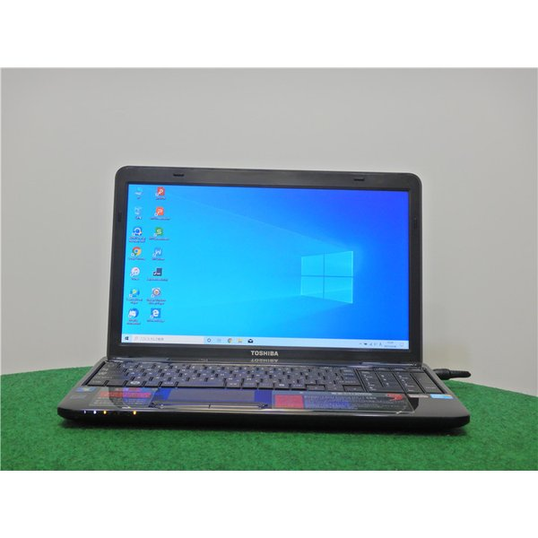 中古/15型/ノートPC/Windows10/爆速新品SSD256GB/4GB/i5-M460/リカバリー領域/TOSHIBAT
