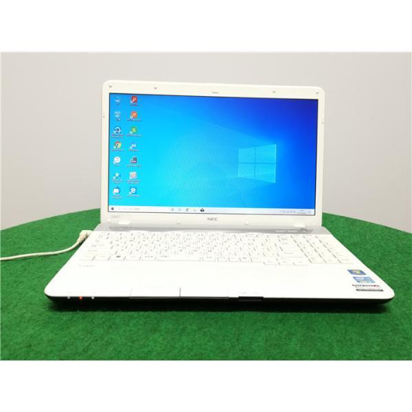 中古/15型/ノートPC/Windows10/新品SSD256/4GB/2世代i3/リカバリー領域/NECLS350/FWSP2