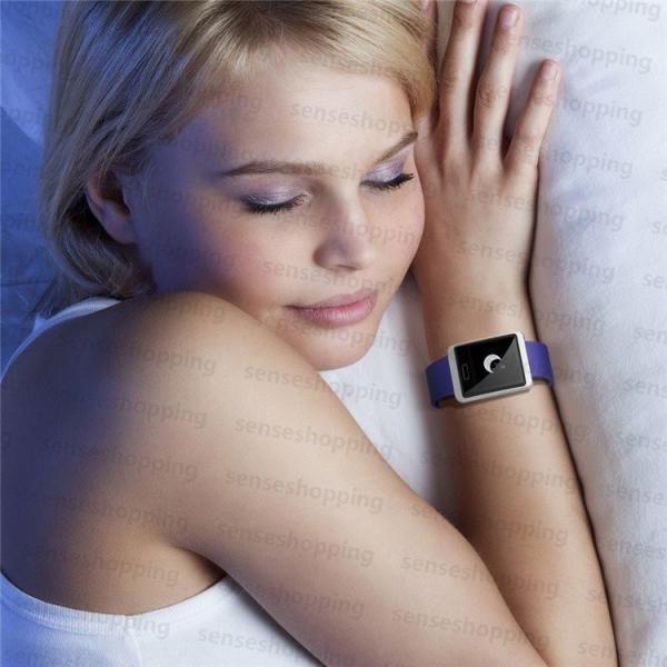 スマートウォッチ 日本語説明書 血圧測定 電話Lineメール着信通知 IPX7防水 iPhone Android対応  スマートブレスレット本体  睡眠  歩数計  心拍数  Y9正規品|senseshopping|20