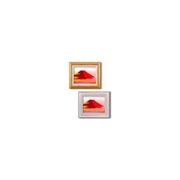 丹羽勇 油絵額F6 「赤富士」 1153040・銀|senssyo