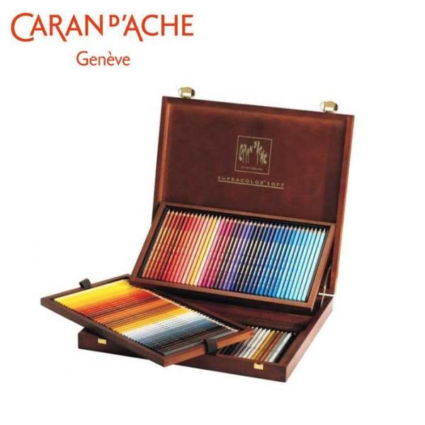 カランダッシュ 3888-920 スプラカラーソフト 120色木箱セット 618249|senssyo