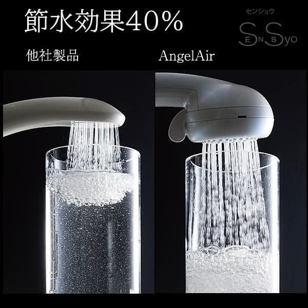 エンジェルエア プレミアム さくらピンク 節水 浴室用マイクロバブル シャワーヘッド AngelAir Premium Toshin 日本製 TH-007-PI senssyo 07