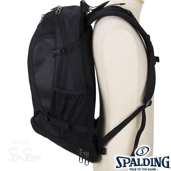 SPALDING ケイジャー ポリネシアン ブラック バスケットボール バッグ バックパック リュック スポルディング CAGER 40-007PB senssyo 16