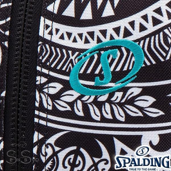 SPALDING ケイジャー ポリネシアン ブラック バスケットボール バッグ バックパック リュック スポルディング CAGER 40-007PB senssyo 03
