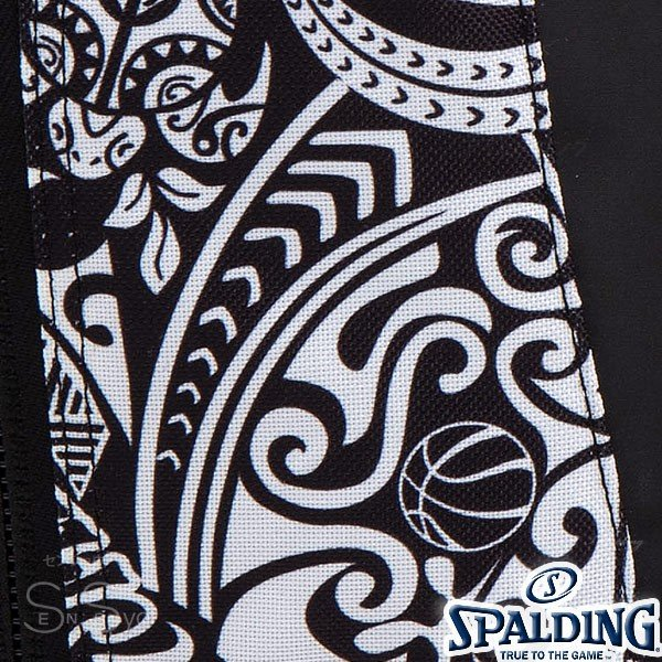 SPALDING ケイジャー ポリネシアン ブラック バスケットボール バッグ バックパック リュック スポルディング CAGER 40-007PB senssyo 04