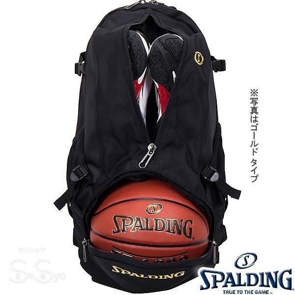 SPALDING ケイジャー ポリネシアン ブラック バスケットボール バッグ バックパック リュック スポルディング CAGER 40-007PB senssyo 09