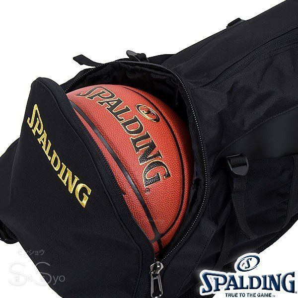 SPALDING ケイジャー ポリネシアン ブラック バスケットボール バッグ バックパック リュック スポルディング CAGER 40-007PB senssyo 10