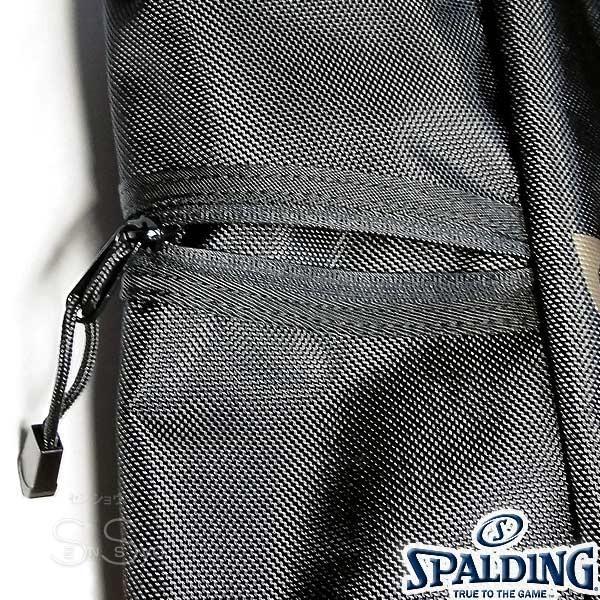 多機能バスケットボール バックパック SPALDING 大容量 ベクター ゴールド バッグ リュック メンズ レディース スポルディング 41-007GD|senssyo|13