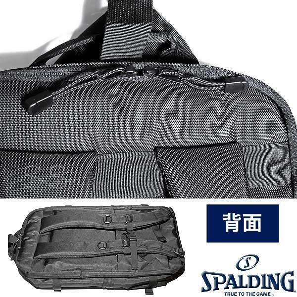 多機能バスケットボール バックパック SPALDING 大容量 ベクター ゴールド バッグ リュック メンズ レディース スポルディング 41-007GD|senssyo|15