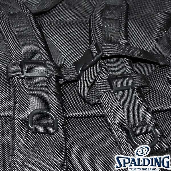 多機能バスケットボール バックパック SPALDING 大容量 ベクター ゴールド バッグ リュック メンズ レディース スポルディング 41-007GD|senssyo|18