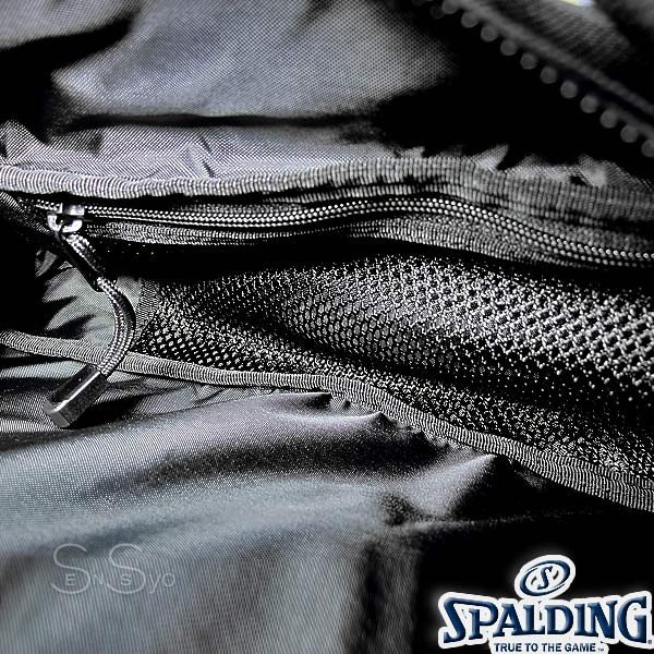 多機能バスケットボール バックパック SPALDING 大容量 ベクター ゴールド バッグ リュック メンズ レディース スポルディング 41-007GD|senssyo|09