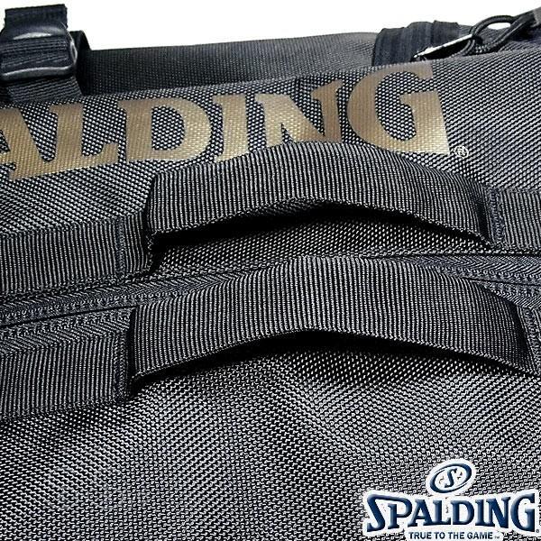 多機能バスケットボール バックパック SPALDING 大容量 ベクター ゴールド バッグ リュック メンズ レディース スポルディング 41-007GD|senssyo|10