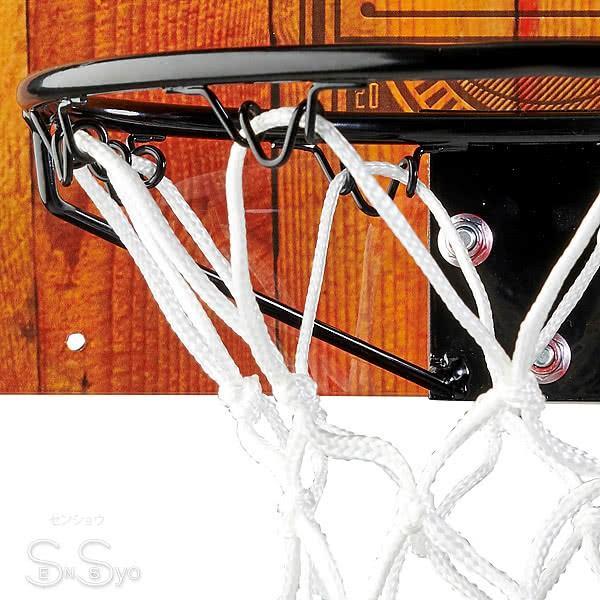 SPALDING ドア用バスケットゴール 125周年スラムジャム バックボード インテリア 木目調 バスケットボール ポリカーボネイト 室内 設置 スポルディング56109CN|senssyo|03
