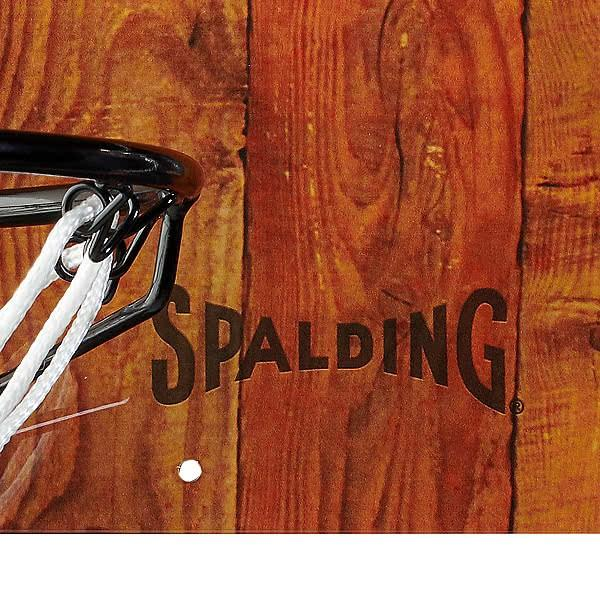 SPALDING ドア用バスケットゴール 125周年スラムジャム バックボード インテリア 木目調 バスケットボール ポリカーボネイト 室内 設置 スポルディング56109CN|senssyo|05