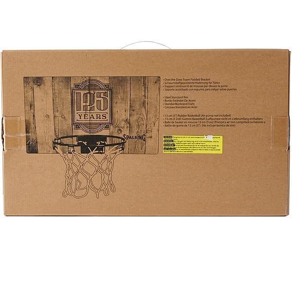SPALDING ドア用バスケットゴール 125周年スラムジャム バックボード インテリア 木目調 バスケットボール ポリカーボネイト 室内 設置 スポルディング56109CN|senssyo|07