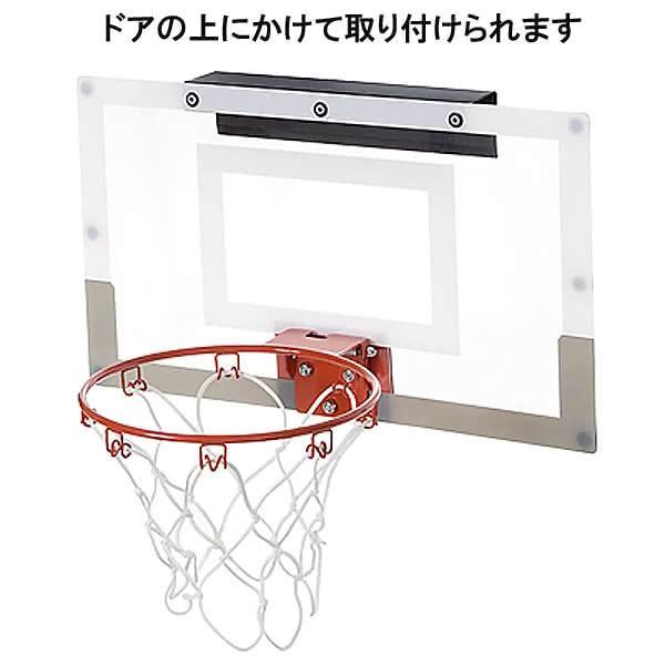 SPALDING ドア用バスケットゴール 125周年スラムジャム バックボード インテリア 木目調 バスケットボール ポリカーボネイト 室内 設置 スポルディング56109CN|senssyo|09