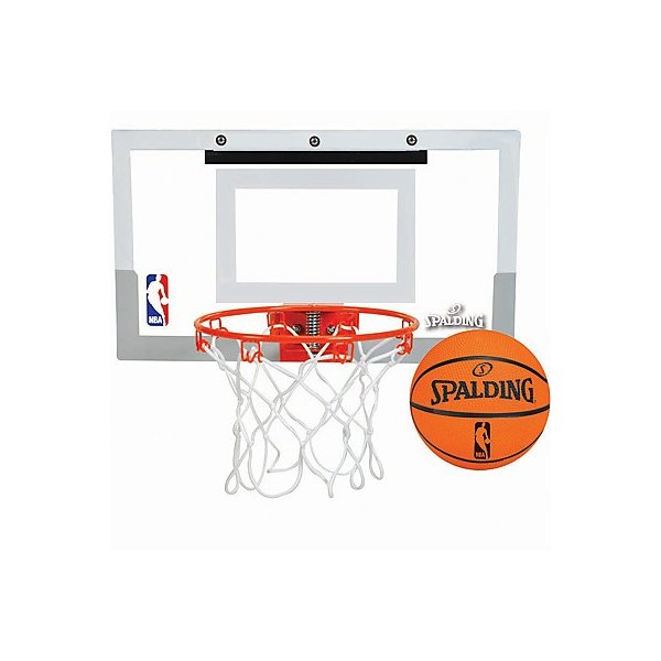 子供用バスケットゴール SPALDINGドア用スラムジャム バックボード ボール付 スポルディング56098CN senssyo