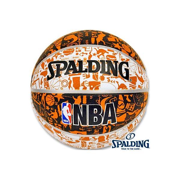 小学校 子供用バスケットボール5号グラフィティ壁画柄 スポルディング ラバー SPALDING83-360J|senssyo