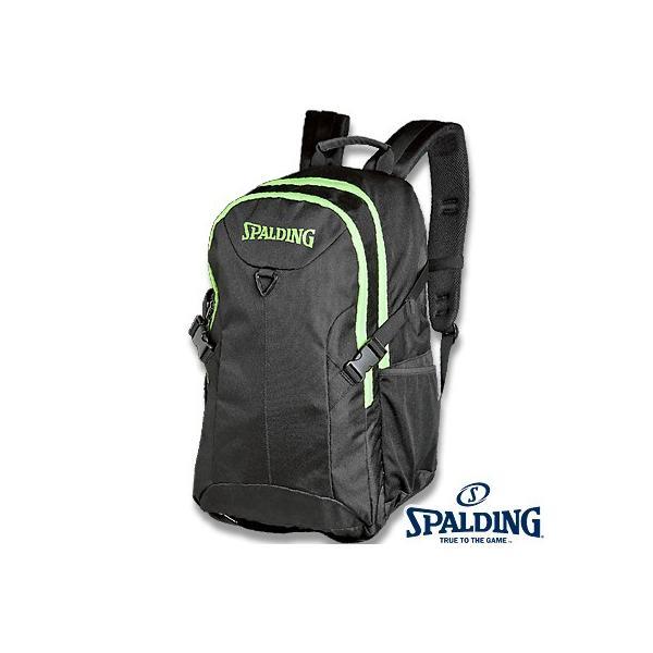 スポルディング フォスター ライムグリーン バスケットボール リュック バスケ収納カバン SPALDING40-006LG|senssyo
