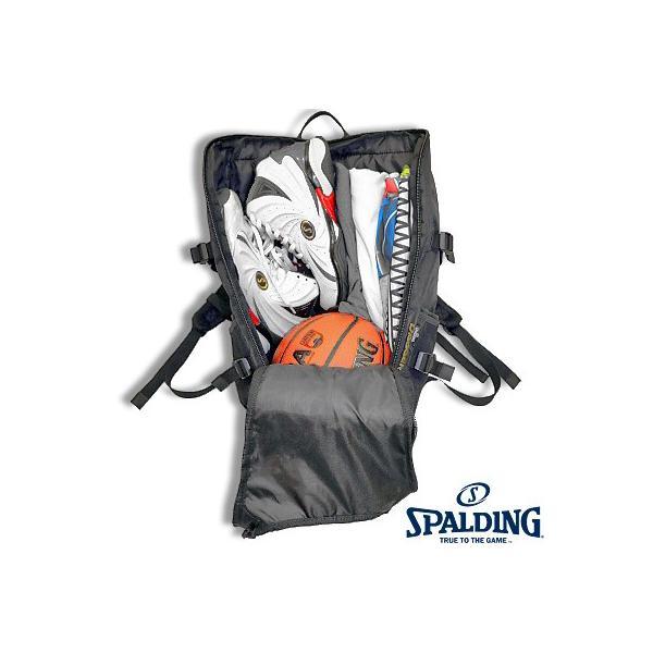 スポルディング ダガー3バックパック ブラックゴールド バスケットボール バッグ SPALDING40-015GD|senssyo|02