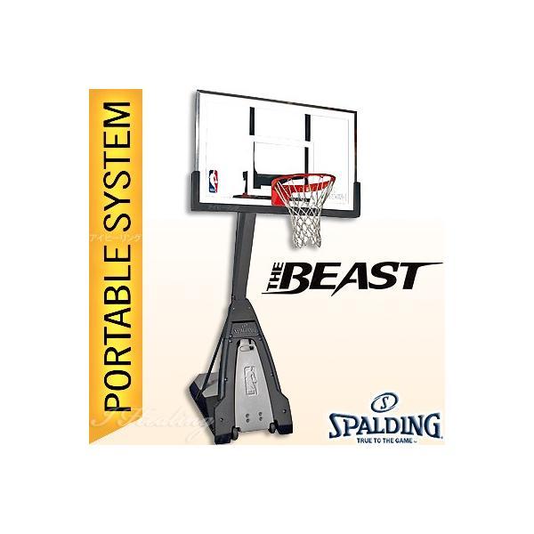 SPALDING バスケットゴール ザ ビースト 強化ガラス バスケットボール バスケ練習 ゴール NBAバックボード152cmスポルディング GOAL 74560JP senssyo 11