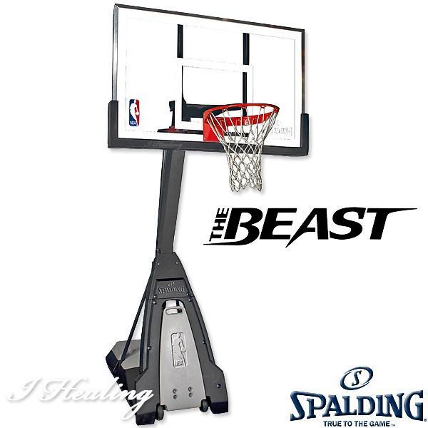 SPALDING バスケットゴール ザ ビースト 強化ガラス バスケットボール バスケ練習 ゴール NBAバックボード152cmスポルディング GOAL 74560JP senssyo 05