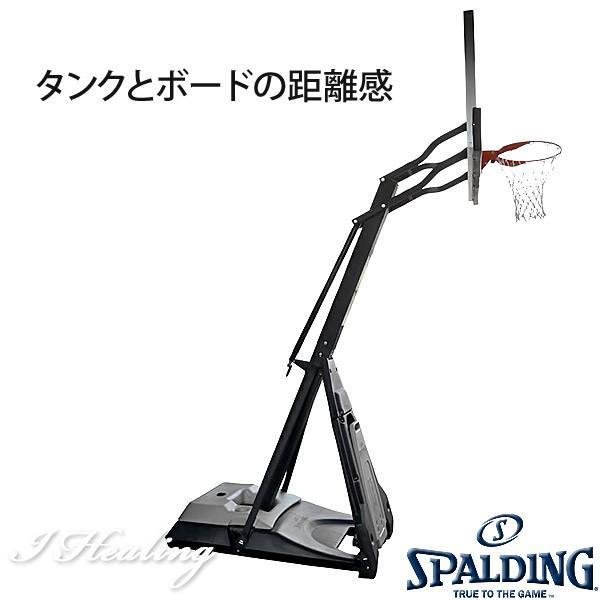 SPALDING バスケットゴール ザ ビースト 強化ガラス バスケットボール バスケ練習 ゴール NBAバックボード152cmスポルディング GOAL 74560JP senssyo 08