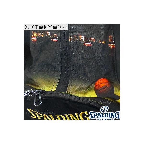SPALDING ケイジャー TOKYO 40-007 バスケットボール バッグ スポーツ バスケ用バックパック リュック スポルディング CAGER 40-007TK|senssyo|03