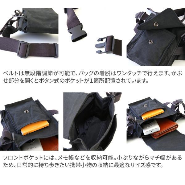 【ポイント15倍+Wプレゼント付】帆布バッグ メンズ ウエストバッグ ブランド 帆布 ボディーバッグ ACR-441 人気