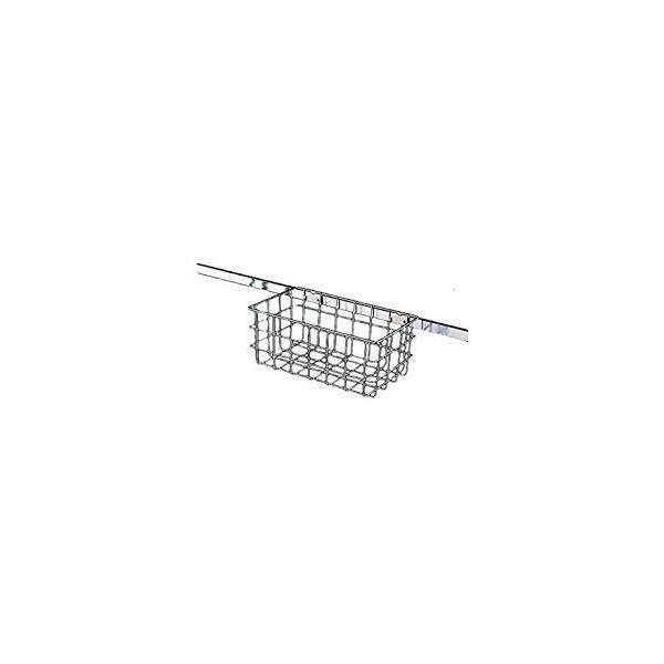 [オプション]モップ収納ラック用バスケット(大)[W446×D249×H146mm]《テラモト正規代理店》[送料無料][事業者限定]