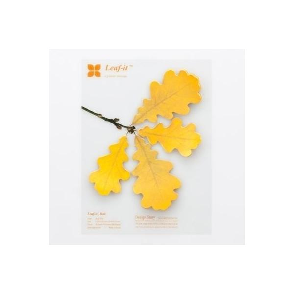 [韓国雑貨]LEAF IT オーク (Large)[2個セット][韓国文房具][可愛い][かわいい][韓国 お土産]tbt580557